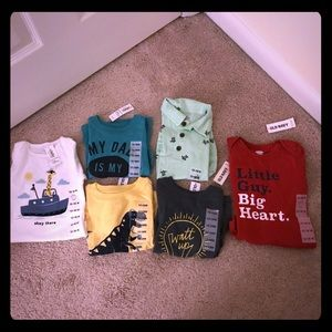 12-18 month t-shirts. 6 NWT in the bundle
